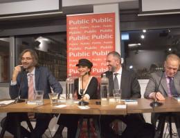 «Ευτυχείτε»  Το νέο βιβλίο του Βασίλη Τσακίρογλου παρουσιάστηκε στο Public Συντάγματος