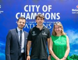 """Η Heineken και η Αθηναϊκή Ζυθοποιία  σκοράρουν με τον Fernando Morientes στο """"City of Champions"""""""