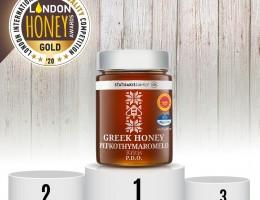 Η STATHAKISFAMILY διακρίθηκε με χρυσό βραβείο ποιότητας στα London Honey Awards